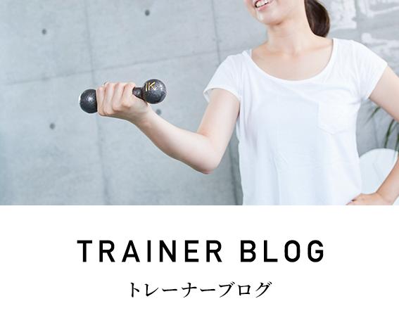トレーナーブログ